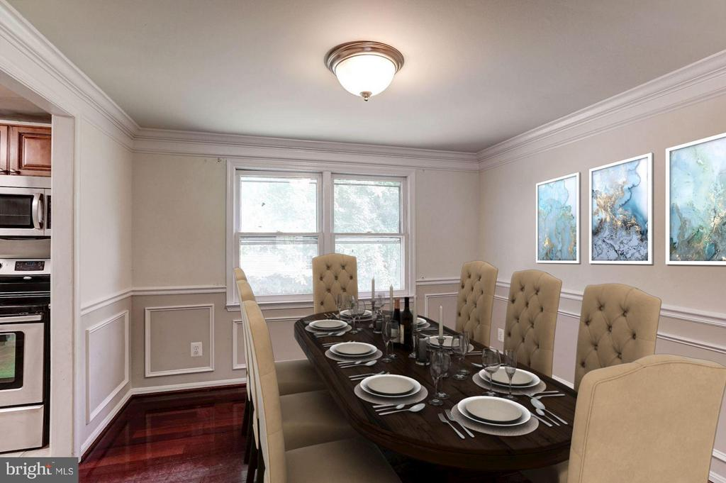 Dining Room (1 of 2) - 602 MERLINS LN, HERNDON