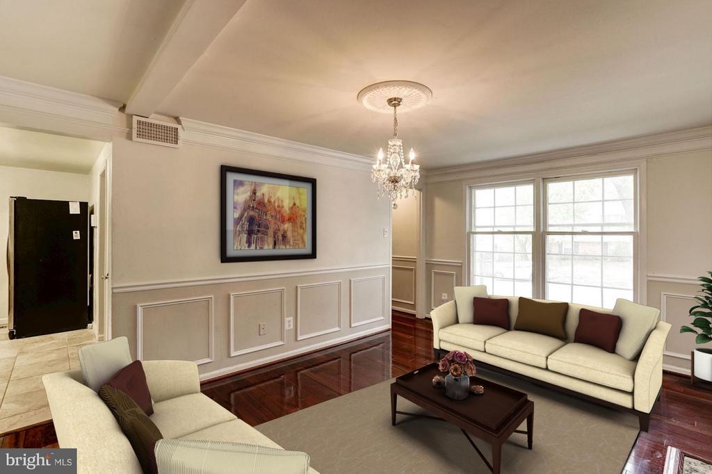 Family Room (3 of 3) - 602 MERLINS LN, HERNDON