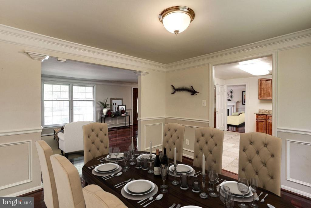Dining Room (2 of 2) - 602 MERLINS LN, HERNDON