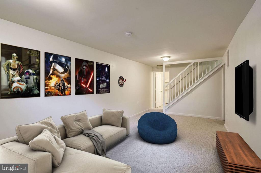 Recreation Room (1 of 2) - 602 MERLINS LN, HERNDON