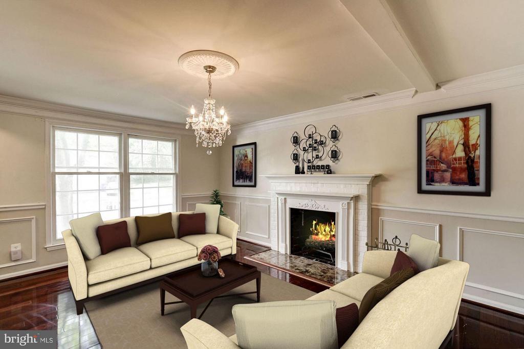 Family Room (1 of 3) - 602 MERLINS LN, HERNDON