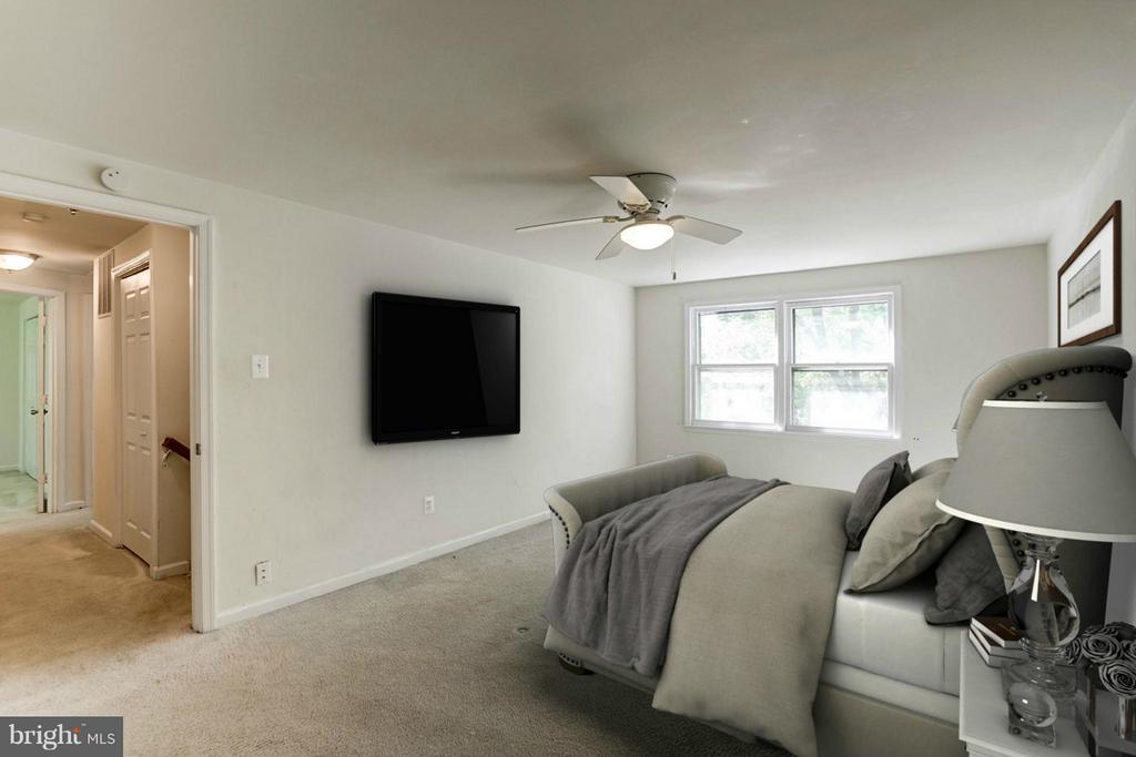 Master Bedroom (1 of 3) - 602 MERLINS LN, HERNDON