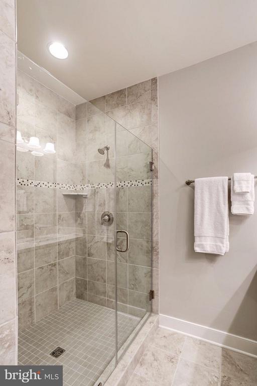 MASTER BATHROOM - A SPA-LIKE OASIS! - 622 CUSTIS AVE E, ALEXANDRIA