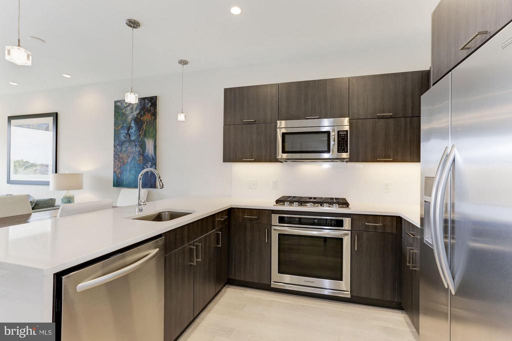 Kitchen - 1350 MARYLAND AVE NE #406, WASHINGTON