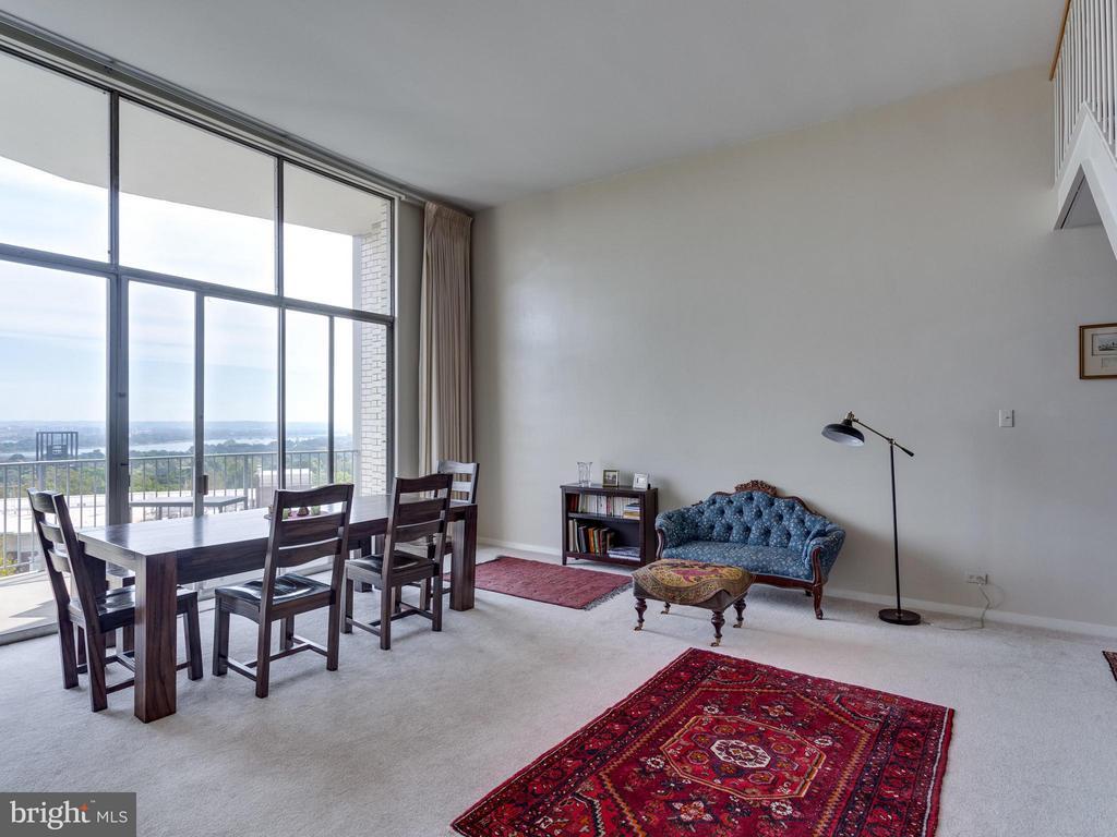 Living Room - 1200 NASH ST #857, ARLINGTON