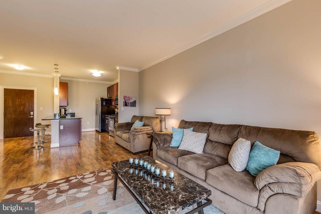 Living Room - 6301 EDSALL RD #620, ALEXANDRIA