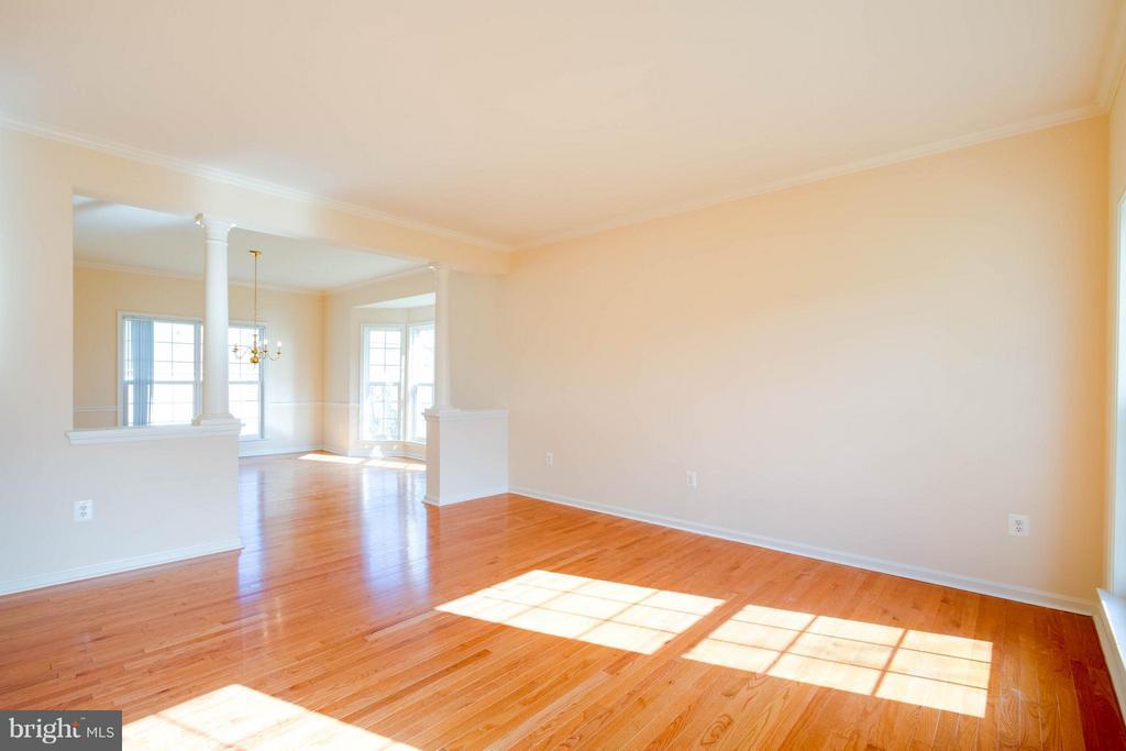 Living Room - 9 GILES CT, STAFFORD