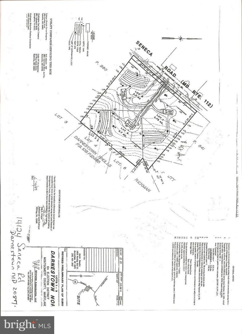 Land for Sale at 14124 Seneca Rd Germantown, Maryland 20874 United States