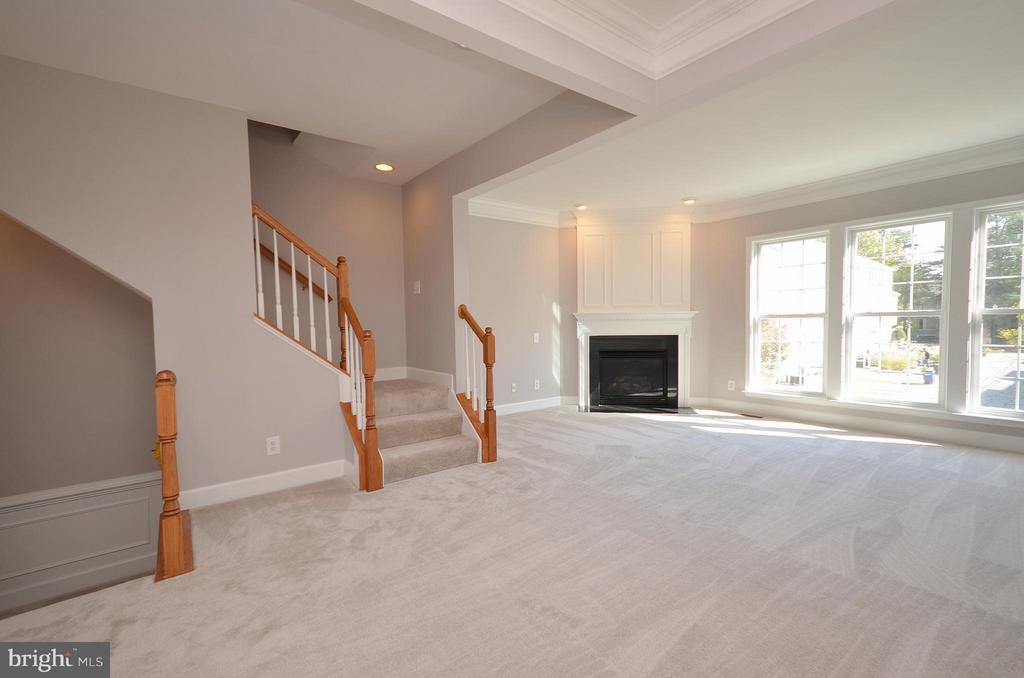 Living Room - 2509 BRONZE STONE PL, HERNDON