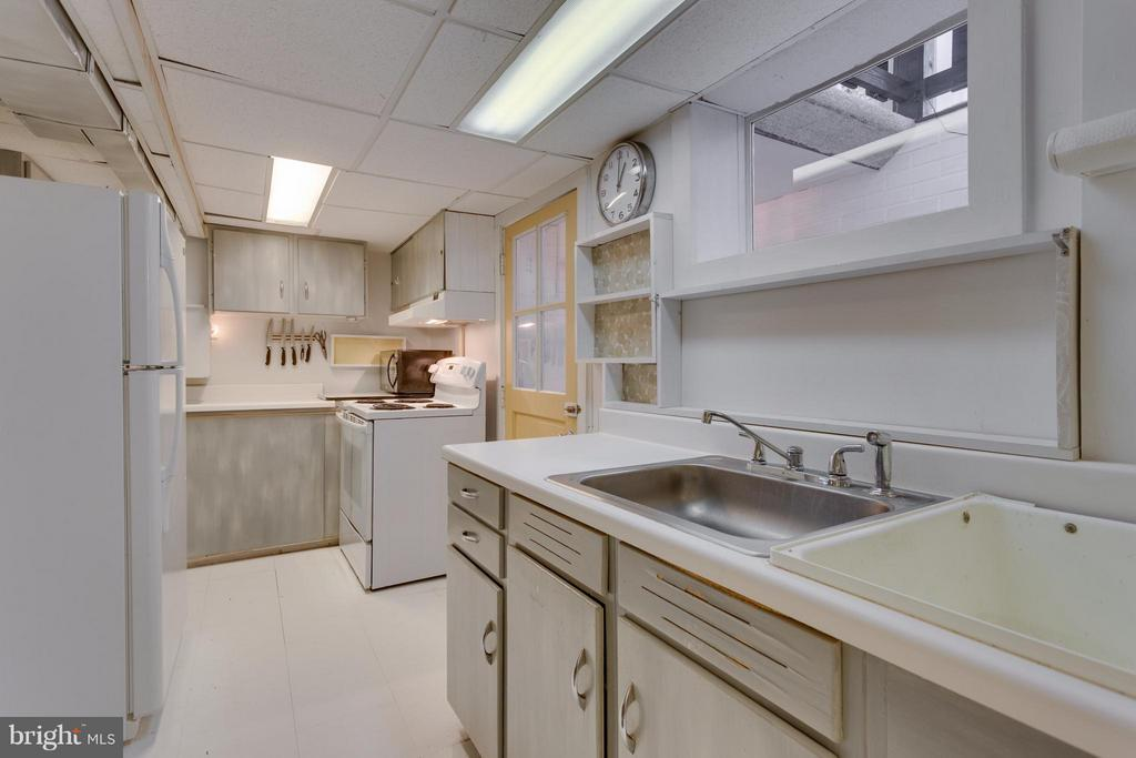 Basement kitchen - 1407 COLUMBUS ST S, ARLINGTON