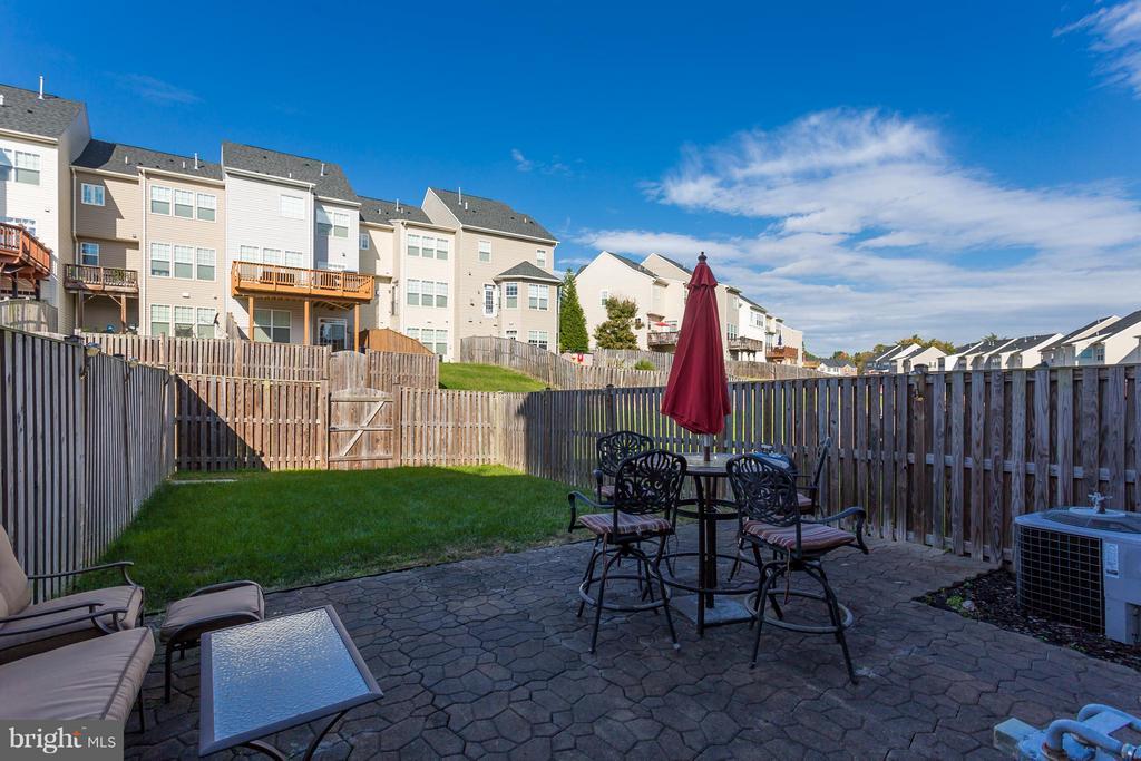 Patio, Lawn, Fenced In Yard - 103 SHORT BRANCH RD, STAFFORD
