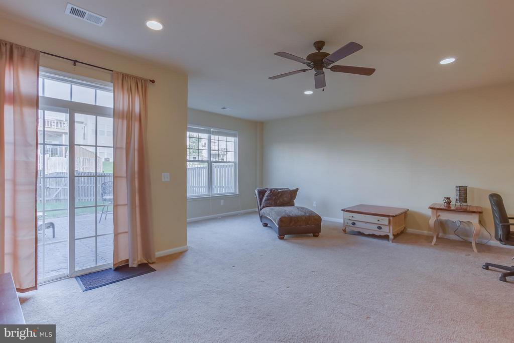Large Rec Rm; Opens to Patio and Fenced in Yard - 103 SHORT BRANCH RD, STAFFORD