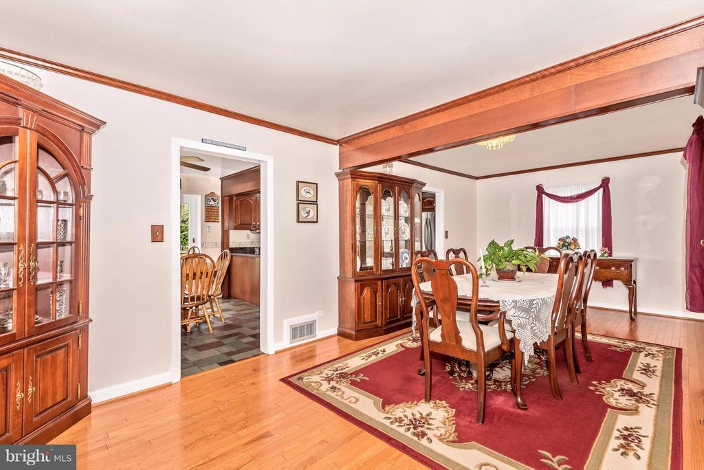 Dining Room - 23724 PLEASANT VIEW LN, GAITHERSBURG