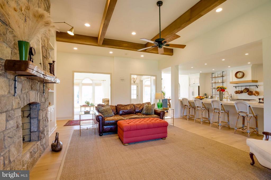 Open Light Filled Family Room - 38242 MILLSTONE DR, PURCELLVILLE
