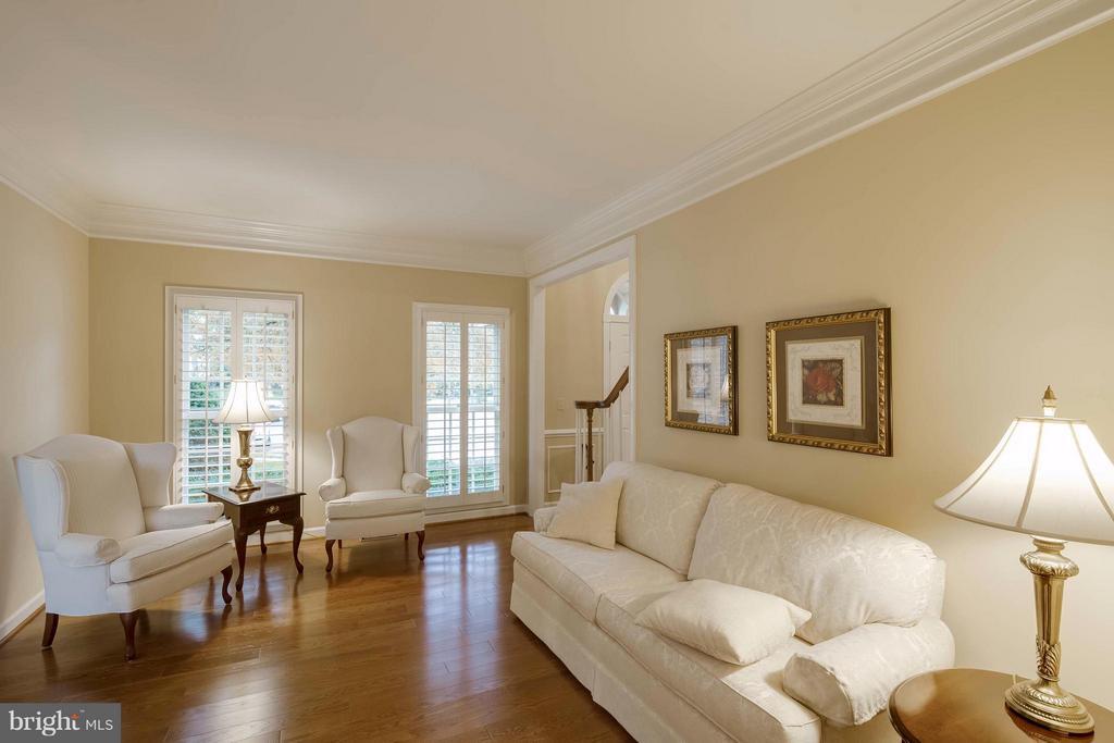 Living Room - 9702 BRAIDED MANE CT, FAIRFAX STATION