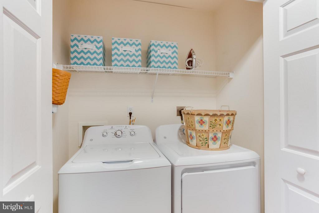Laundry Closet - 107 PINE CT, GORDONSVILLE