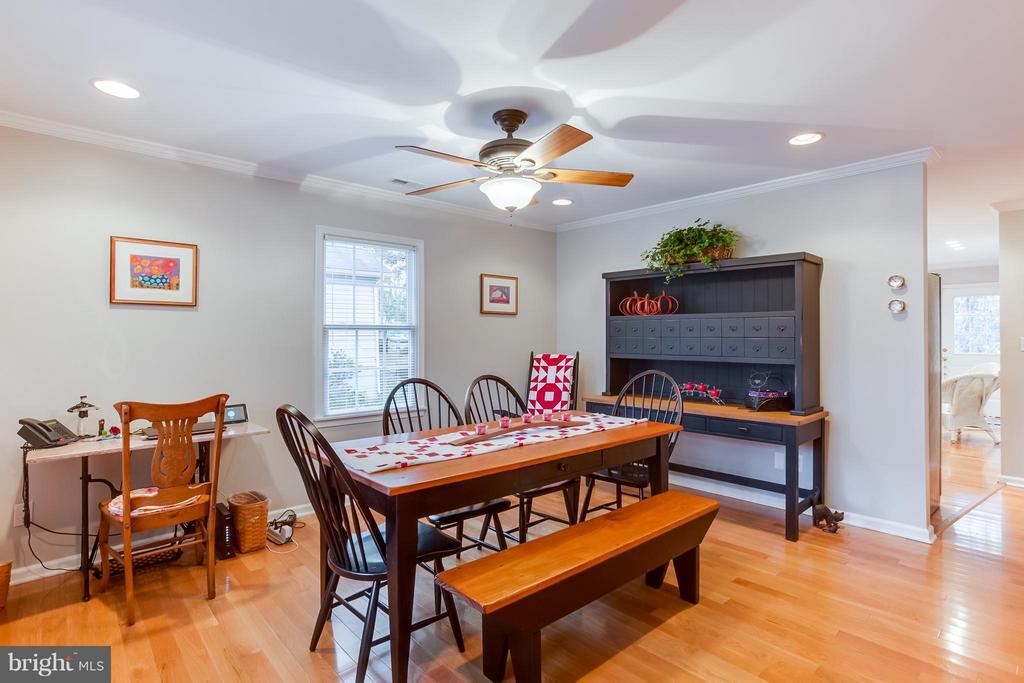 Dining Room view to Kitchen - 107 PINE CT, GORDONSVILLE