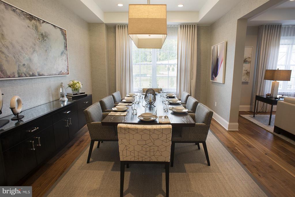 Dining Room - 8111 RIVER #136 3RD FLOOR, BETHESDA