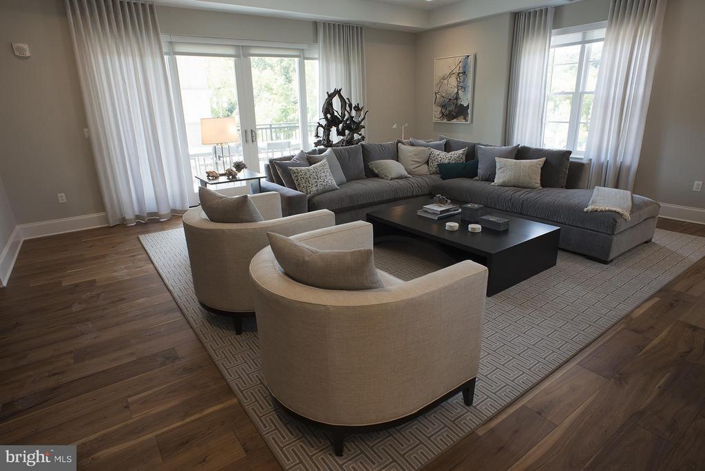 Family Room - 8111 RIVER #136 3RD FLOOR, BETHESDA