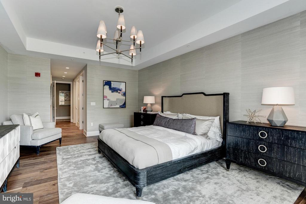Bedroom (Master) - 8111 RIVER #136 3RD FLOOR, BETHESDA