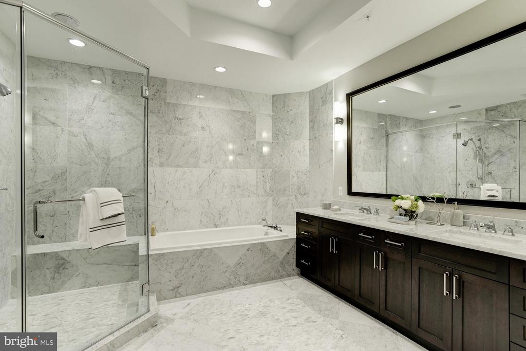 Bath (Master) - 8111 RIVER #136 3RD FLOOR, BETHESDA
