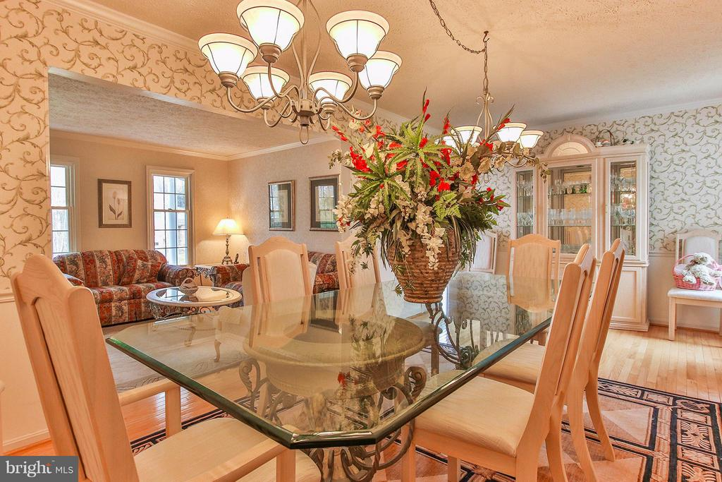 Grand dining rm! - 17 LIPSCOMB CT, STERLING