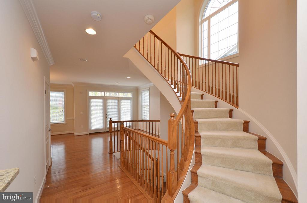 Stairs to Upper Level - 4458 BLACK IRONWOOD DR, FAIRFAX