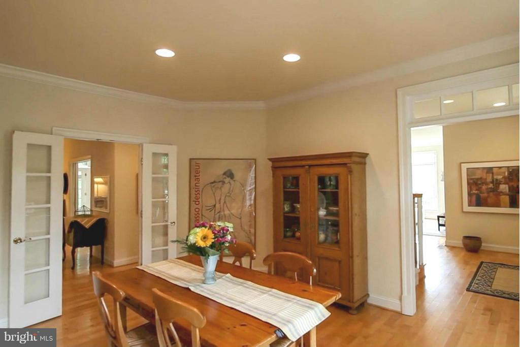 Dining Room - 11597 CEDAR CHASE RD, HERNDON
