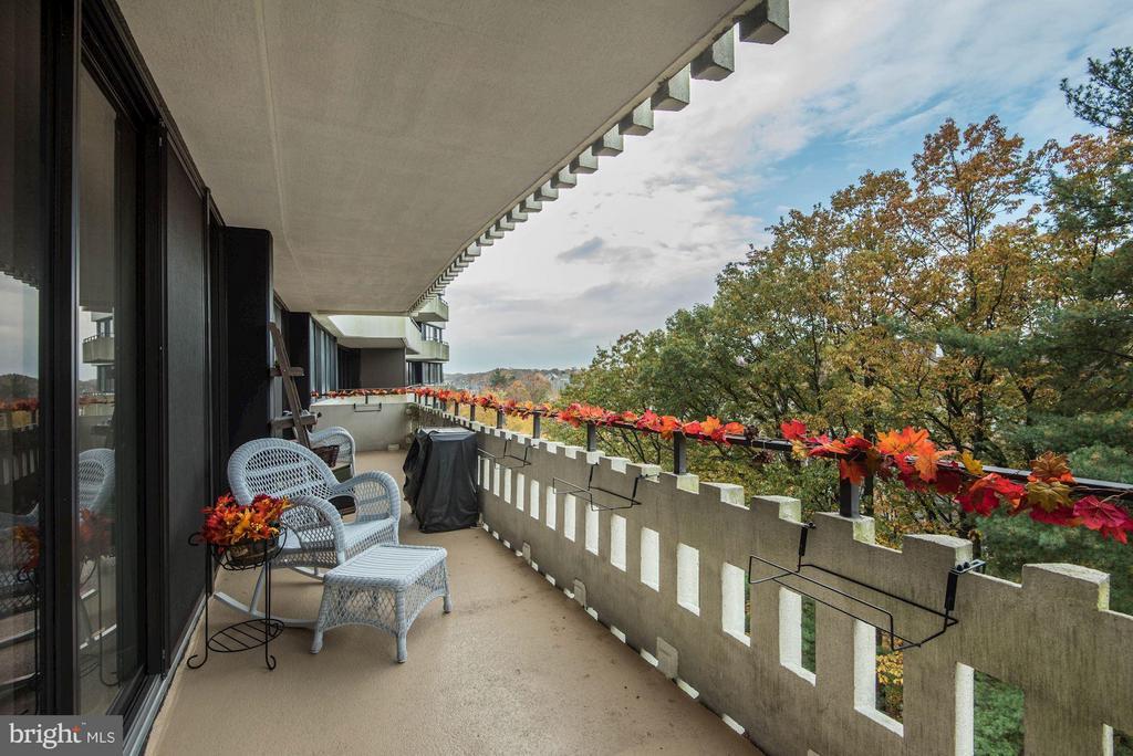Balcony - 6301 STEVENSON AVE #808, ALEXANDRIA