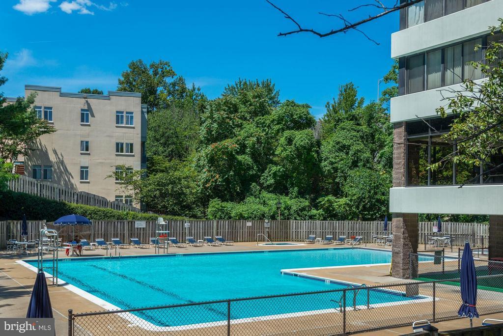 Pool - 6301 STEVENSON AVE #808, ALEXANDRIA