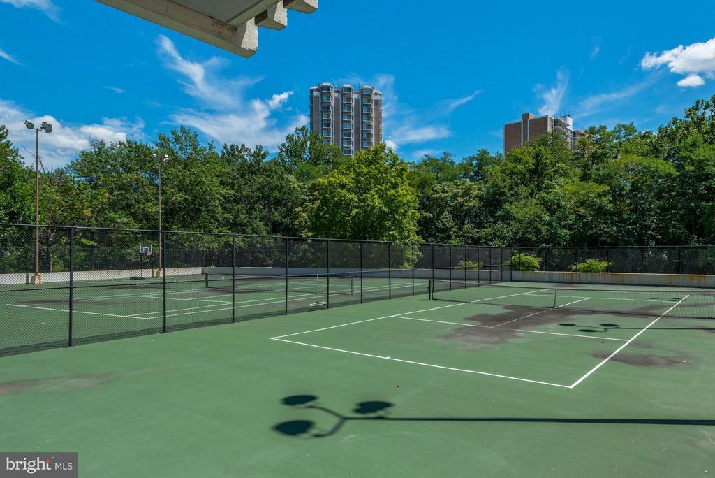 Tennis Court - 6301 STEVENSON AVE #808, ALEXANDRIA