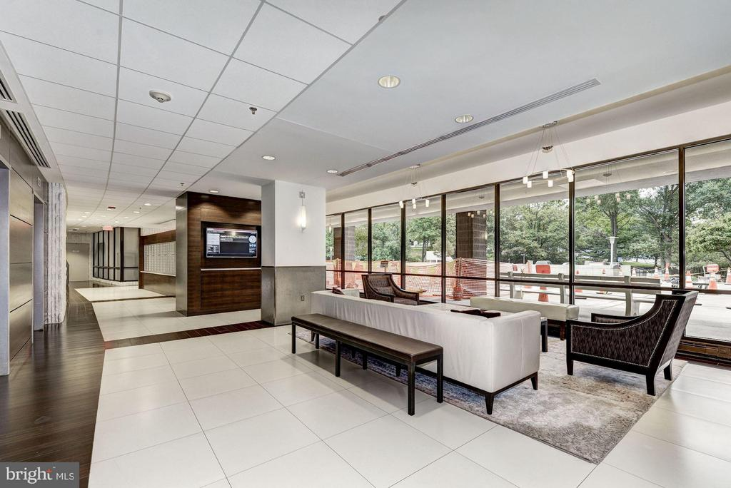 Lobby - 6301 STEVENSON AVE #808, ALEXANDRIA