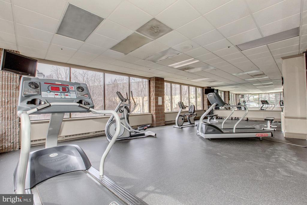 Exercise room - 6301 STEVENSON AVE #808, ALEXANDRIA