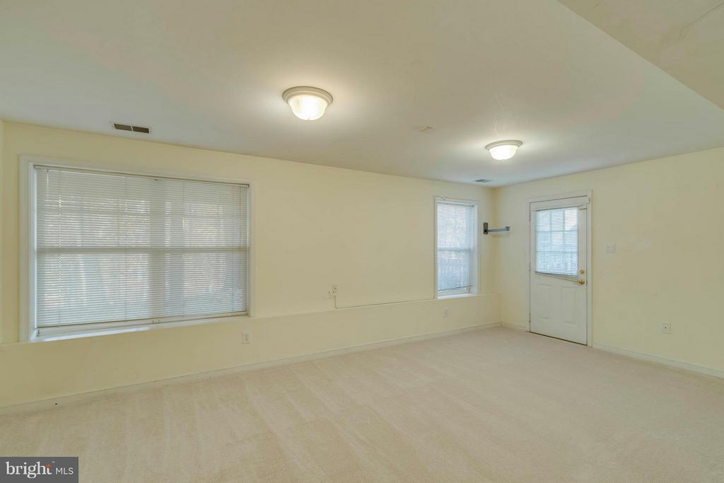 Basement Recreation Room - 15532 WINDWARD CT, DUMFRIES