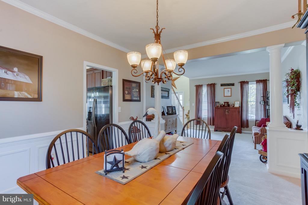 Dining Room - 10915 JARVIS CT, FREDERICKSBURG