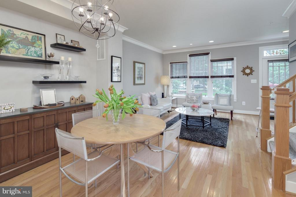 Upgraded Chandelier w/ Recessed Lighting and HW - 2743 11TH ST N, ARLINGTON