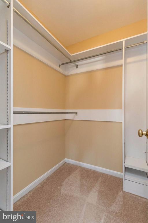 Walk in closet in master - 15261 HYACINTH PL, DUMFRIES