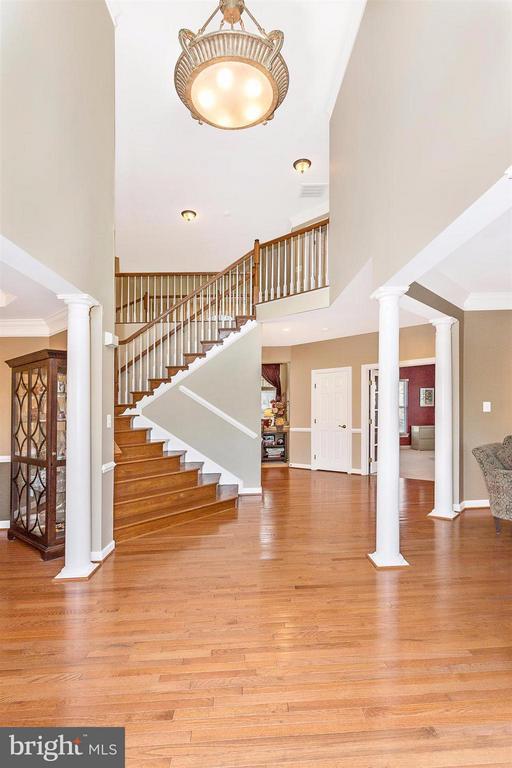 Two story foyer - 10411 WHITEROSE DR, NEW MARKET