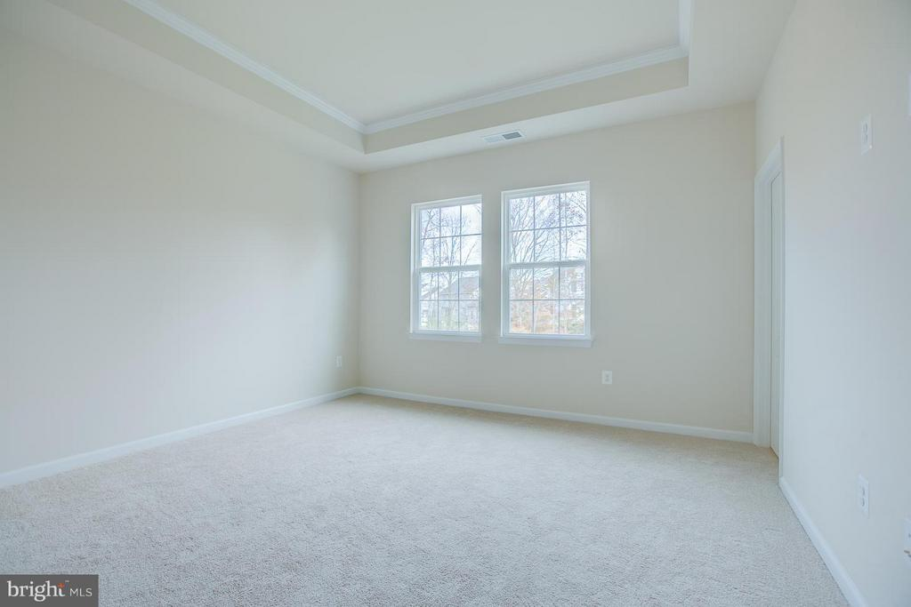 Bedroom (Master) With Trey Ceiling! - 312 PEAR BLOSSOM RD, STAFFORD