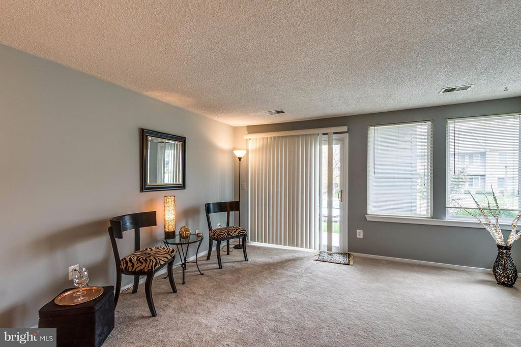 walk out to a patio - 1506C SUMMERCHASE CT #1506 #C, RESTON