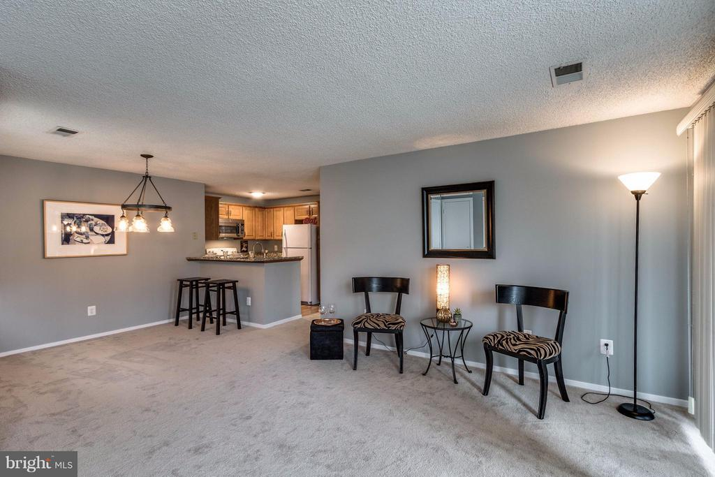 Living Room - 1506-C SUMMERCHASE CT #1506 #C, RESTON