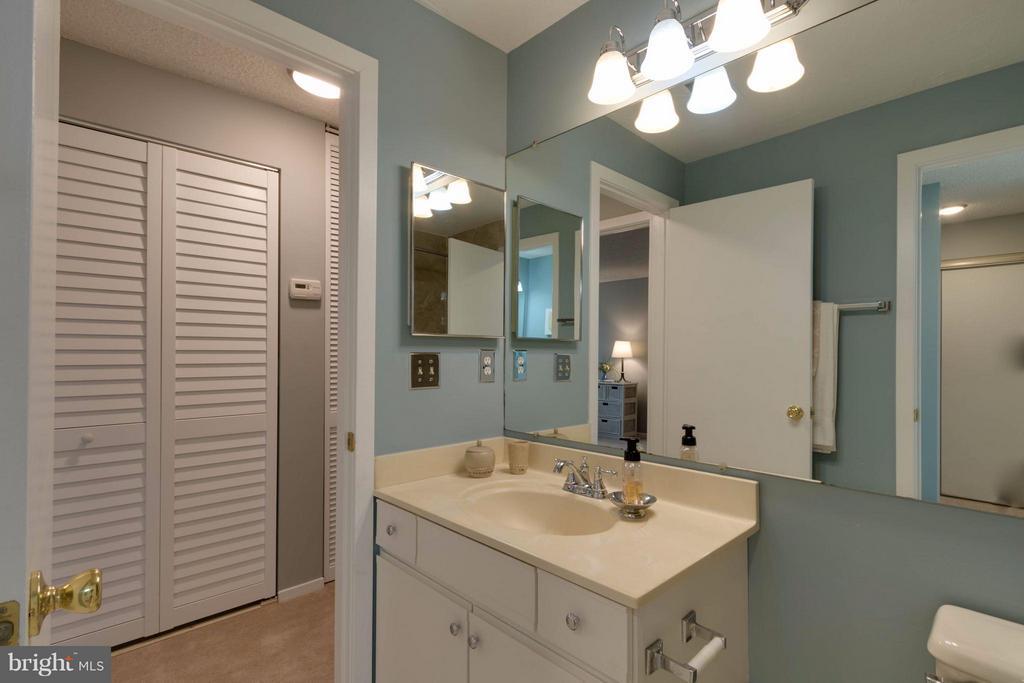 Extra vanity adjoining the full bath - 1506C SUMMERCHASE CT #1506 #C, RESTON