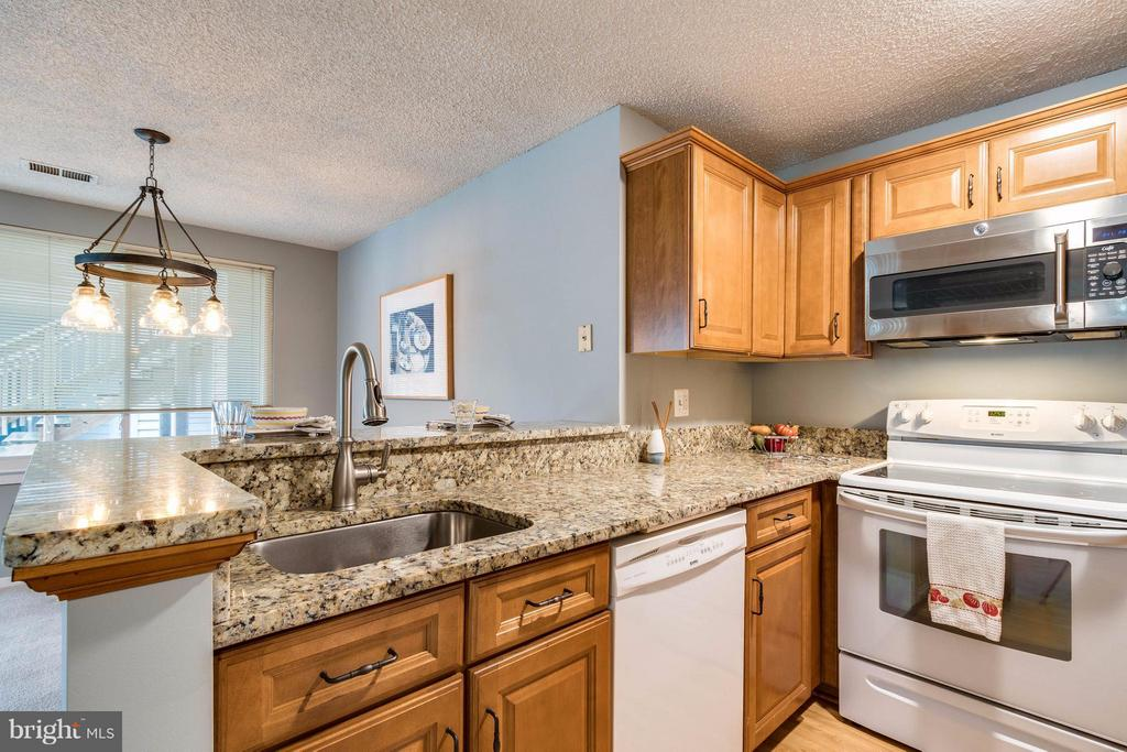 updated kitchen with granite counters - 1506-C SUMMERCHASE CT #1506 #C, RESTON