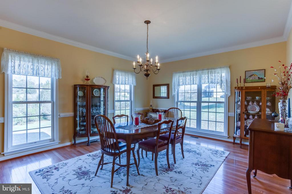 Crown Molding, Chair Railing and Natural Lighting - 51 EQUESTRIAN DR, STAFFORD