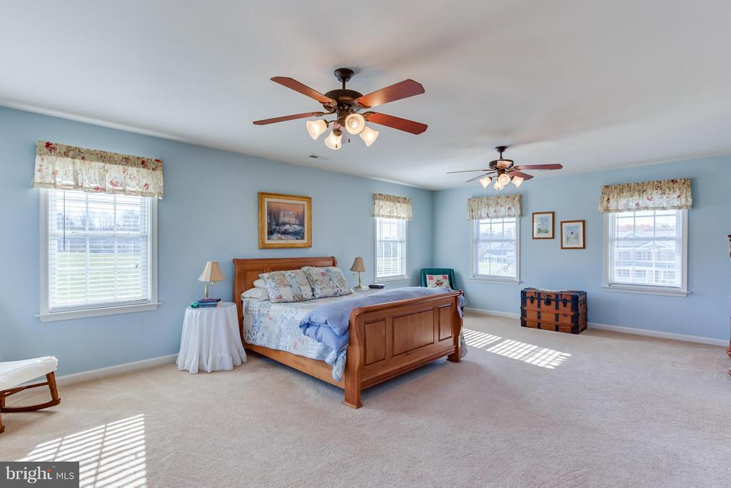 Master Suite with His & Her Walk-in Closets - 51 EQUESTRIAN DR, STAFFORD