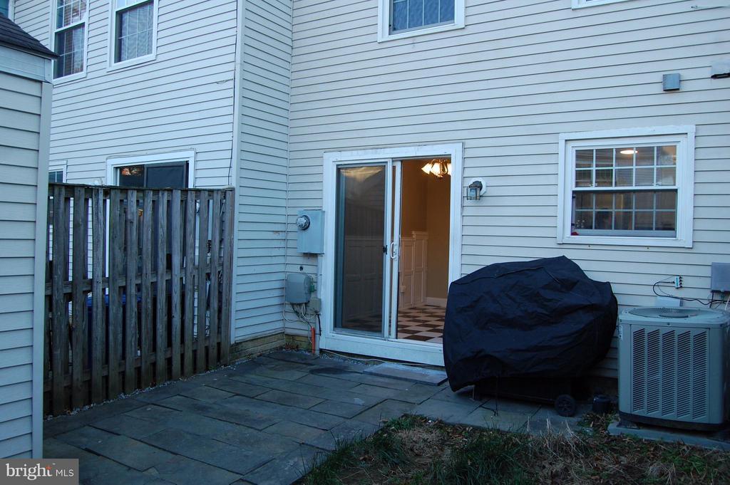 Backyard - 7017 OLD BRENTFORD RD, ALEXANDRIA