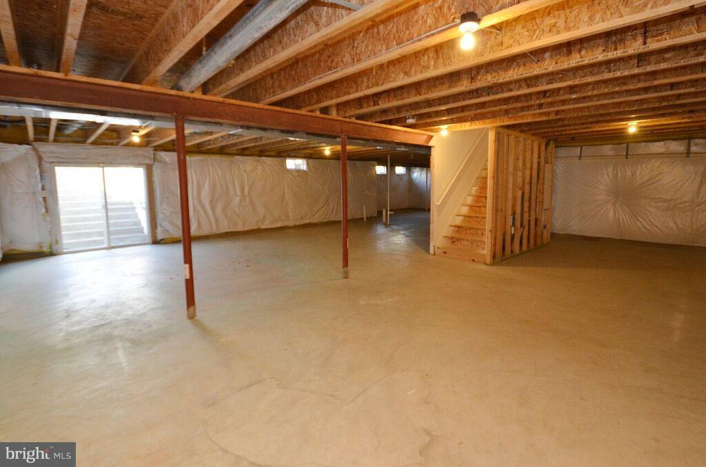 Basement - 405 HEARTWOOD CT, PURCELLVILLE