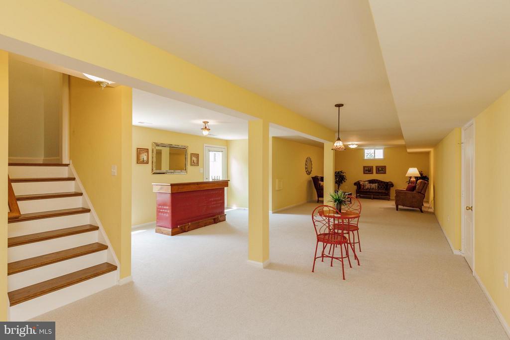 Huge finished basement - 2595 BEAR DEN RD, FREDERICK