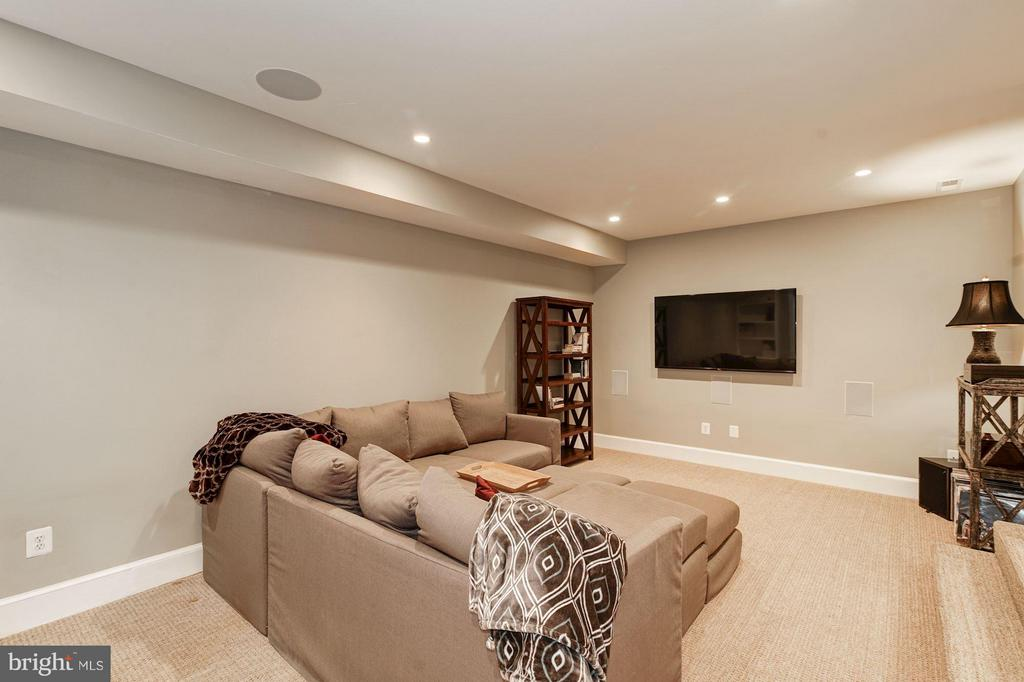 Lower Level of Finished Basement - 303 VIRGINIA AVE, ALEXANDRIA