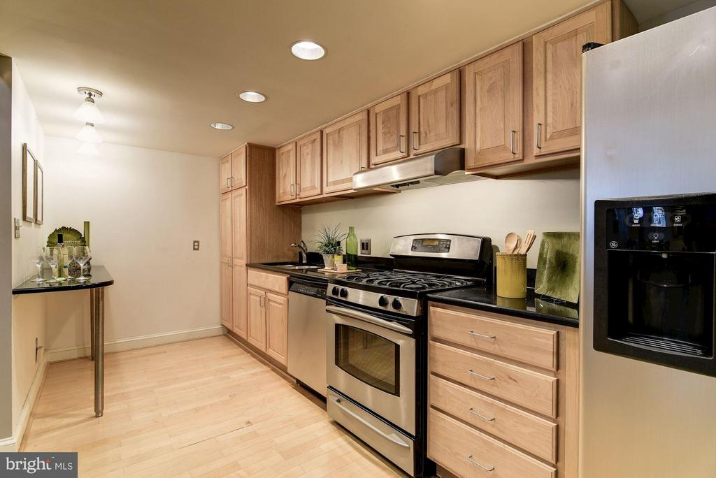 Recessed Lights Throughout - 1217 N ST NW #1, WASHINGTON